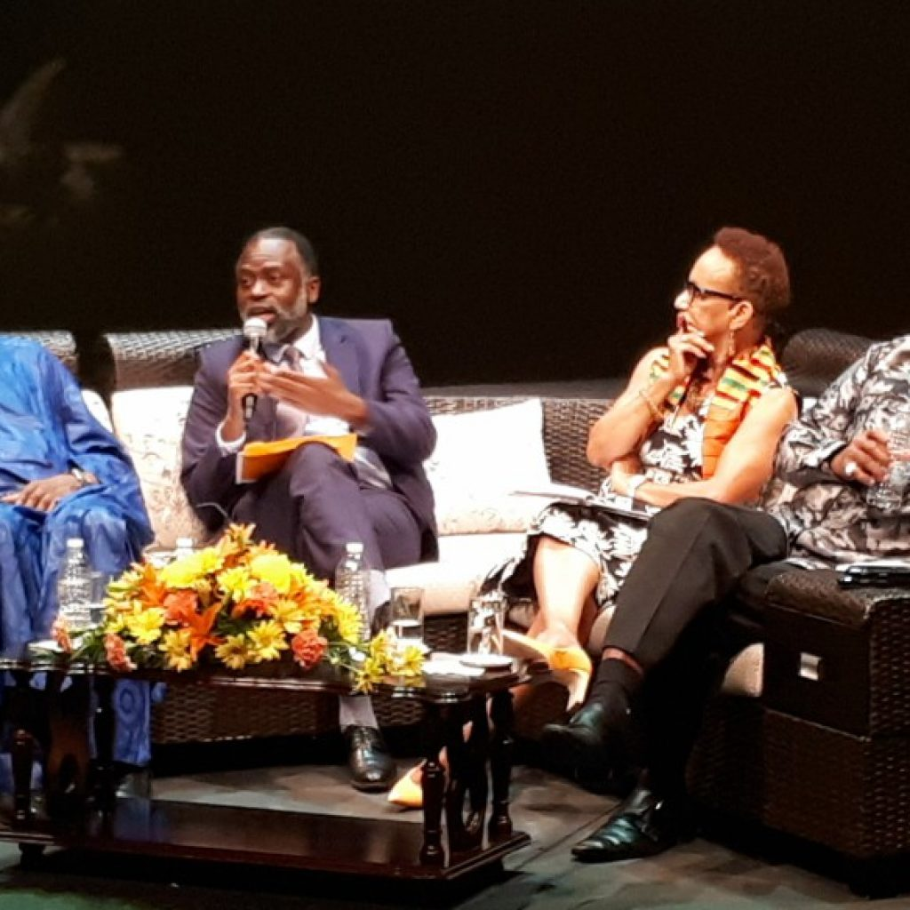 Black Panther Panel in Barbados
